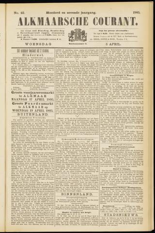 Alkmaarsche Courant 1905-04-05