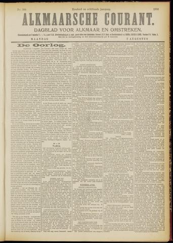 Alkmaarsche Courant 1916-08-07