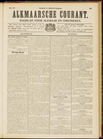 Alkmaarsche Courant 1911-04-22
