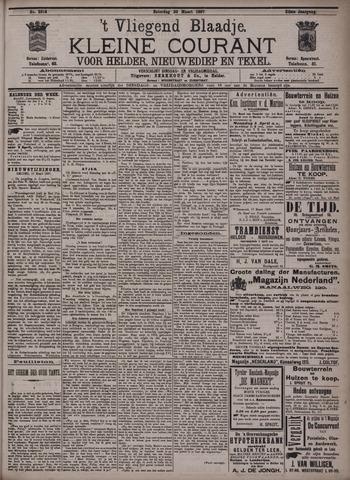 Vliegend blaadje : nieuws- en advertentiebode voor Den Helder 1897-03-20