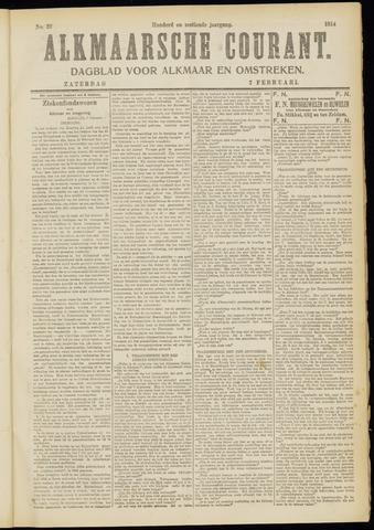 Alkmaarsche Courant 1914-02-07