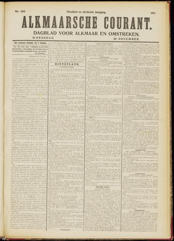 Alkmaarsche Courant 1911-12-20