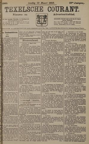 Texelsche Courant 1916-03-12
