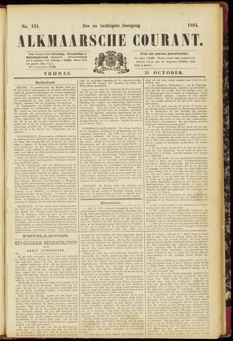 Alkmaarsche Courant 1884-10-31
