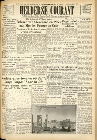 Heldersche Courant 1954-08-26