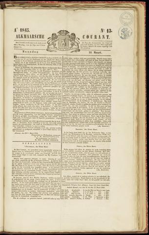 Alkmaarsche Courant 1845-03-31