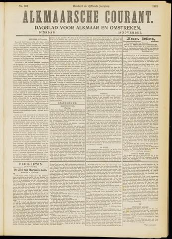 Alkmaarsche Courant 1913-11-18