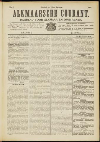 Alkmaarsche Courant 1909-01-04