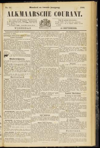Alkmaarsche Courant 1900-09-19