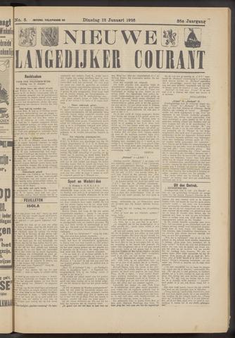 Nieuwe Langedijker Courant 1926-01-12