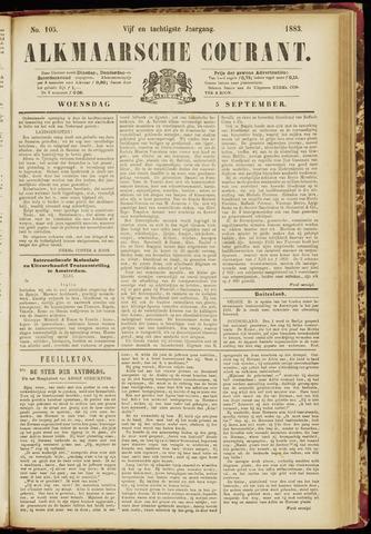 Alkmaarsche Courant 1883-09-05