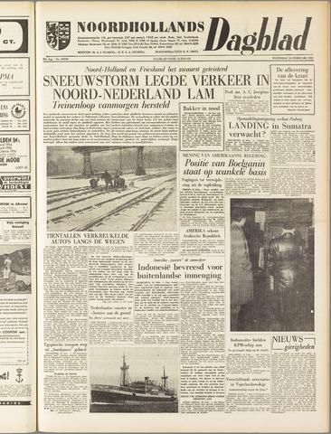 Noordhollands Dagblad : dagblad voor Alkmaar en omgeving 1958-02-26