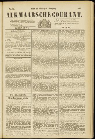 Alkmaarsche Courant 1886-06-23
