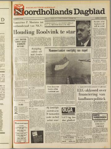 Noordhollands Dagblad : dagblad voor Alkmaar en omgeving 1969-12-22