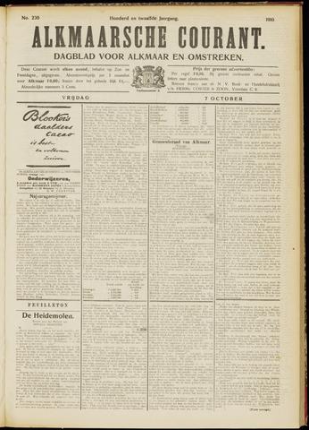 Alkmaarsche Courant 1910-10-07