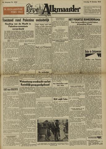 De Vrije Alkmaarder 1947-10-11