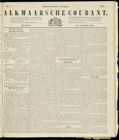 Alkmaarsche Courant 1873-02-16