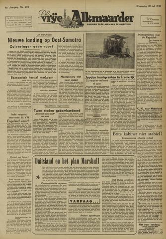 De Vrije Alkmaarder 1947-07-30