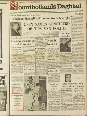 Noordhollands Dagblad : dagblad voor Alkmaar en omgeving 1965-11-17