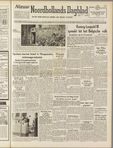 Nieuw Noordhollandsch Dagblad : voor Alkmaar en omgeving 1950-07-24