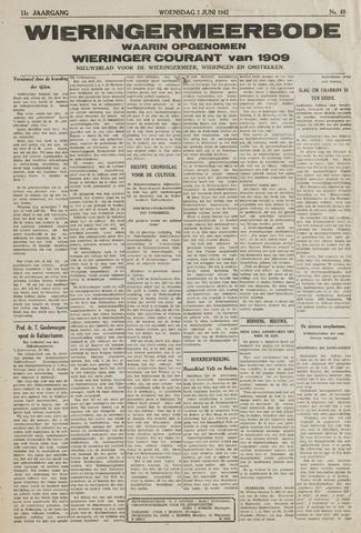 Wieringermeerbode 1942-06-03