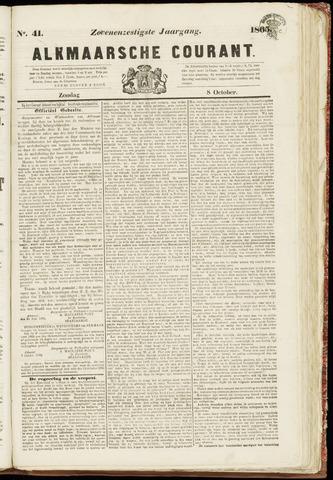 Alkmaarsche Courant 1865-10-08