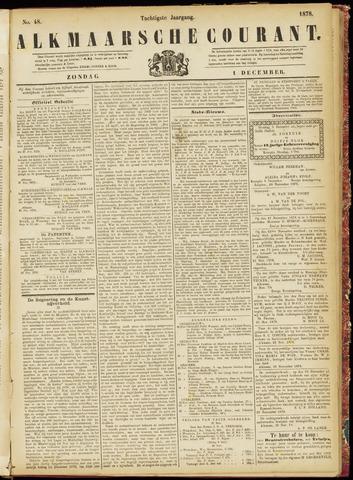 Alkmaarsche Courant 1878-12-01