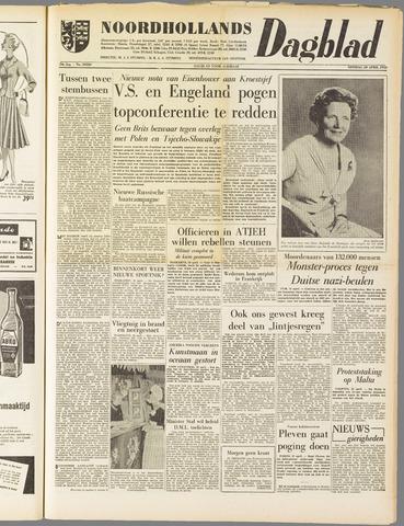 Noordhollands Dagblad : dagblad voor Alkmaar en omgeving 1958-04-29