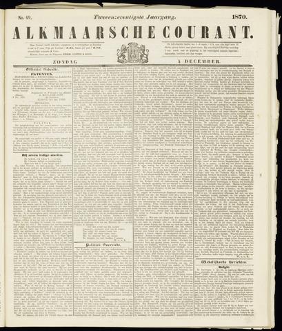 Alkmaarsche Courant 1870-12-04
