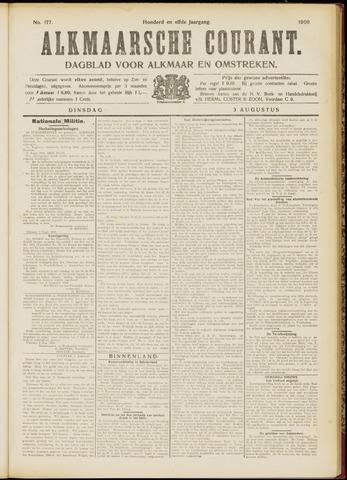 Alkmaarsche Courant 1909-08-03