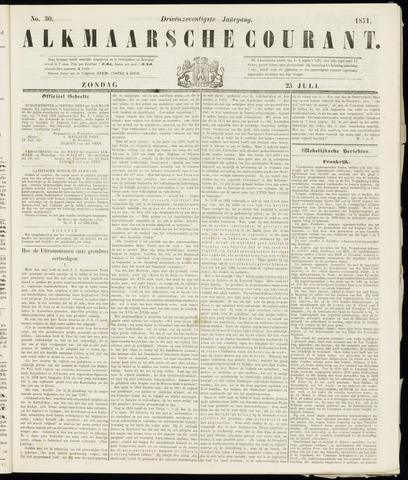 Alkmaarsche Courant 1871-07-23