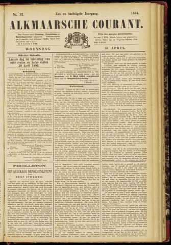 Alkmaarsche Courant 1884-04-30