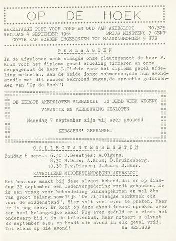 Op De Hoek, weekblad voor Akersloot 1964-09-04