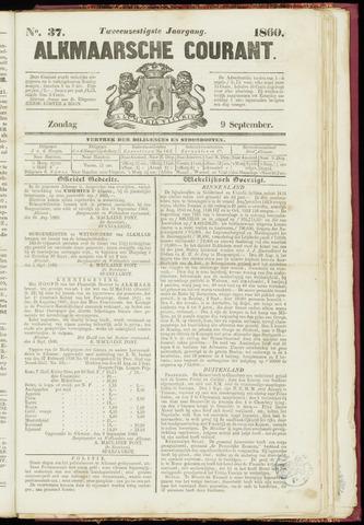 Alkmaarsche Courant 1860-09-09