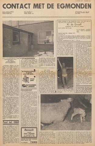 Contact met de Egmonden 1971-01-06