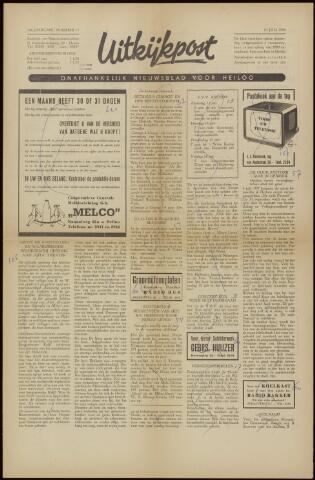 Uitkijkpost : nieuwsblad voor Heiloo e.o. 1958-07-04