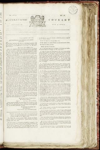 Alkmaarsche Courant 1819-04-19
