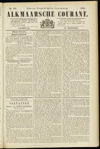 Alkmaarsche Courant 1889-08-30