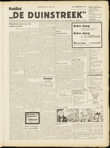 De Duinstreek 1965-07-29
