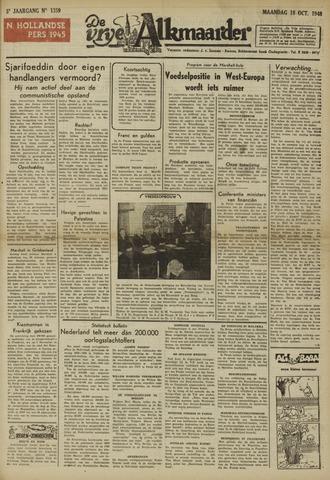 De Vrije Alkmaarder 1948-10-18
