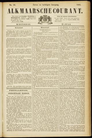 Alkmaarsche Courant 1885-07-22