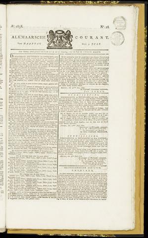 Alkmaarsche Courant 1838-07-09