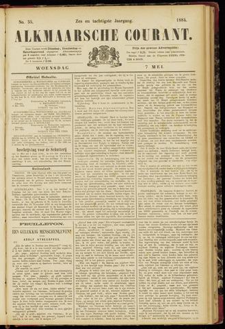 Alkmaarsche Courant 1884-05-07