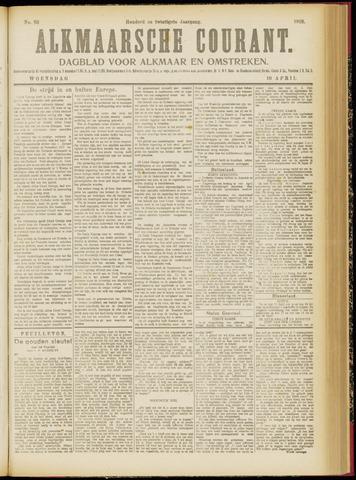 Alkmaarsche Courant 1918-04-10