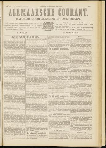 Alkmaarsche Courant 1914-11-30