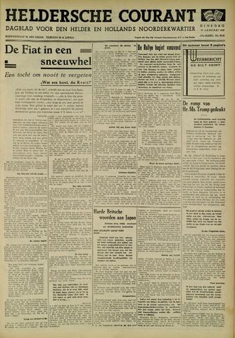 Heldersche Courant 1939-01-17