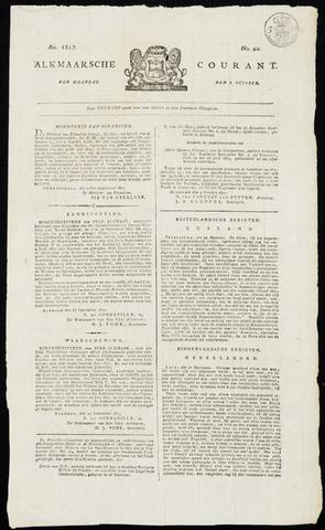 Alkmaarsche Courant 1817-10-06