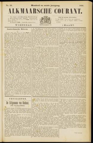 Alkmaarsche Courant 1899-03-01