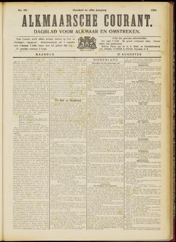Alkmaarsche Courant 1909-08-23