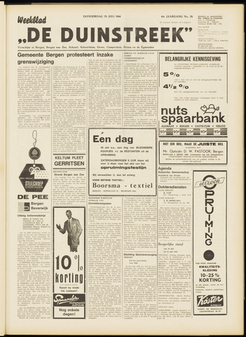 De Duinstreek 1966-07-28
